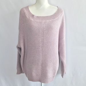 New York & Co Lilac Sweater Top. NWT